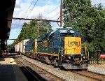 CSX 2772 leads local C770